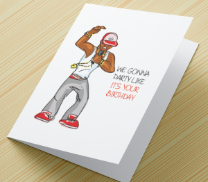 African American Man Birthday Card U