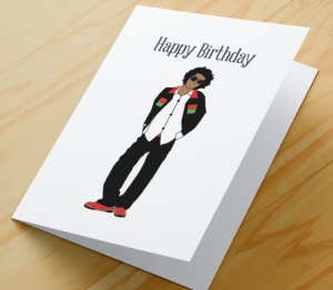 Birthday Card - African American Boy C