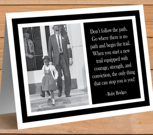 Ruby Bridges Card