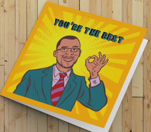 African American Card - You're The Best A